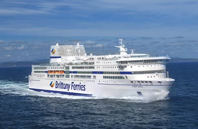Brittany Ferries - Promy Cargo
