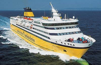 Corsica Sardinia Ferries - Promy Cargo