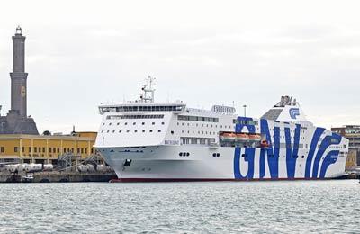 Grandi Navi Veloci - Promy Cargo