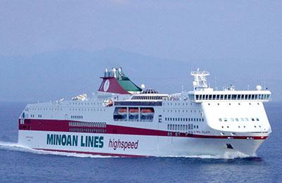 Minoan Lines - Promy Cargo