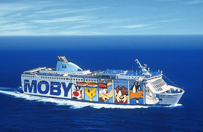 Moby Lines - Promy Cargo