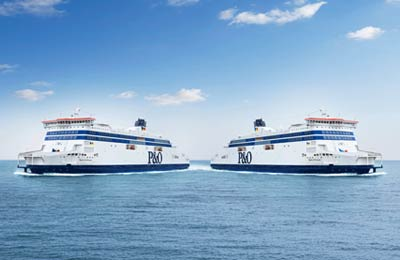 P & O Ferries - Promy Cargo