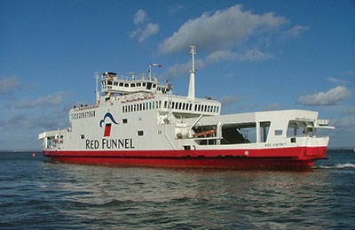 Red Funnel - Promy Cargo