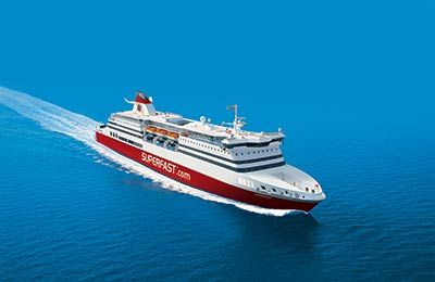 Superfast Ferries - Promy Cargo